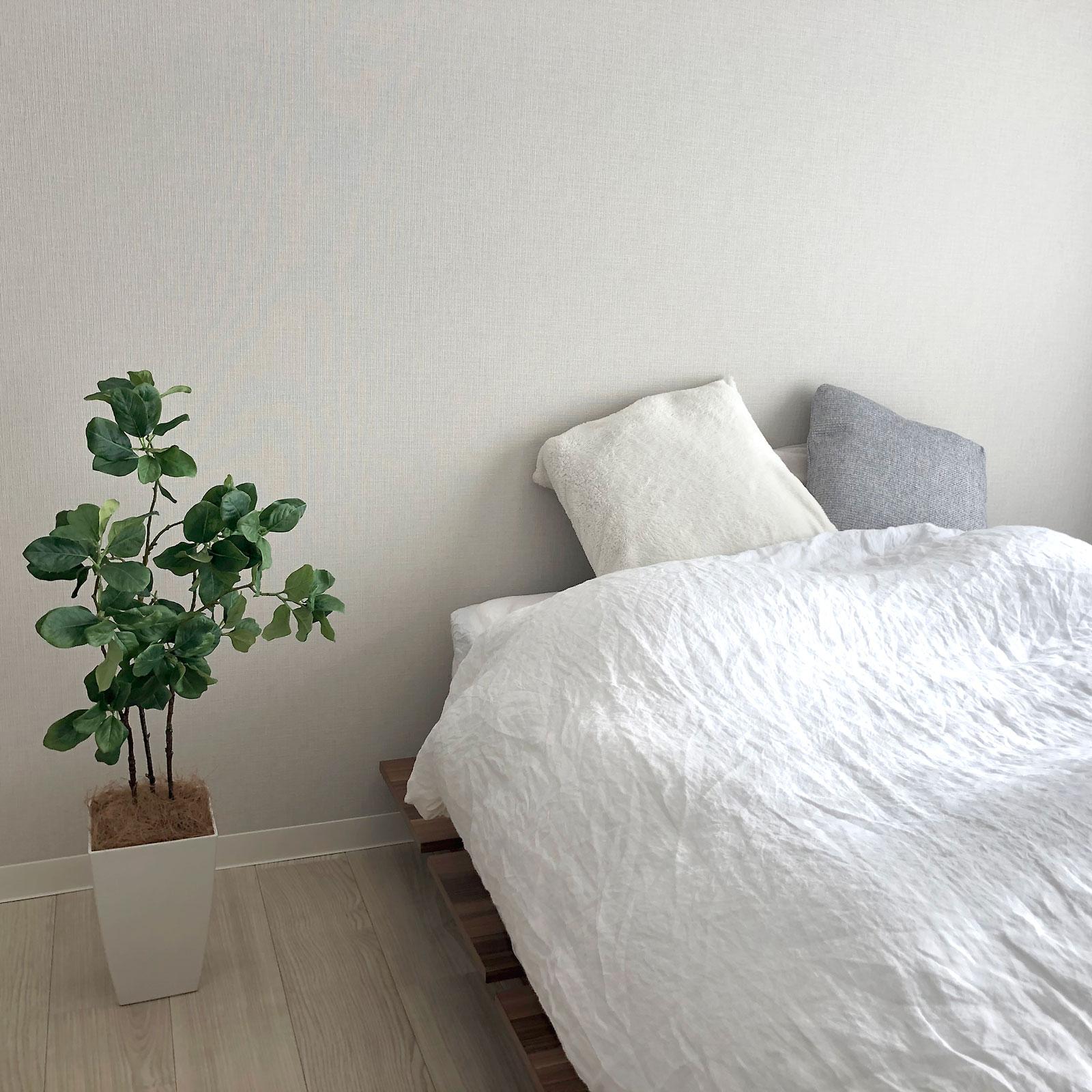 光触媒フェイクグリーン 造花 観葉植物は寝室にもおすすめです。
